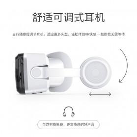 Shinecon 3D VR Box Virtual Reality Glasses 3D Headphone for 4-6 Inch Smartphone - SC-G08 - White - 2