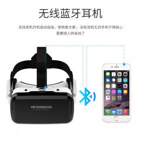 Shinecon 3D VR Box Virtual Reality Glasses 3D Headphone for 4-6 Inch Smartphone - SC-G08 - White - 3
