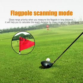 Mileseey Teropong Golf Jarak Laser Rangefinder 600M 6X - PF210 - Blue - 4