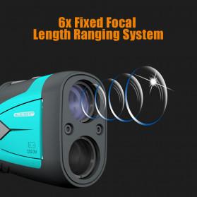 Mileseey Teropong Golf Jarak Laser Rangefinder 600M 6X - PF210 - Blue - 7