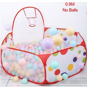 COOLPLAY Mainan Kolam Mandi Bola Anak Ball Pool 0.9M - TM01932 - Red