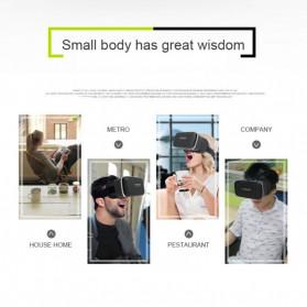 Shinecon 6th Generation 3D VR Box Virtual Reality Glasses for 4.7-6 Inch Smartphone - SC-G04 - Black - 6