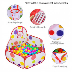 COOLPLAY Mainan Kolam Mandi Bola Anak Ball Pool 1.5M - TM01932 - Red