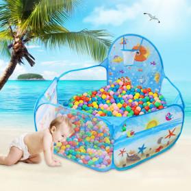 COOLPLAY Mainan Kolam Mandi Bola Anak Ball Pool 1.2M - TM01932 - Blue