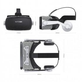 Shinecon 3D VR Box Virtual Reality Glasses 3D Headphone for 4.7-6 Inch Smartphone - SC-G07E - Black - 6