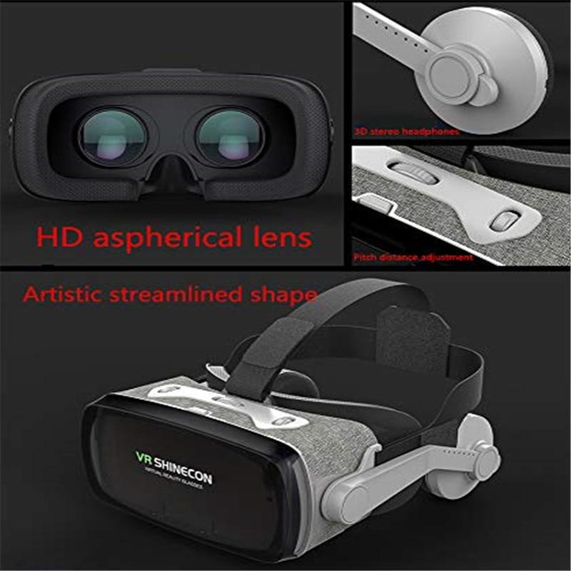 "VR glasses 3d virtual reality glasses for 4.7/"" 6.0/"" mobile phone Black"