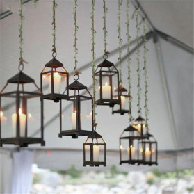 ZQNYCY Dekorasi Hiasan Cafe Wedding Ranting Daun Handmade DIY Artifical Leaves 20m - BB481 - Green - 7
