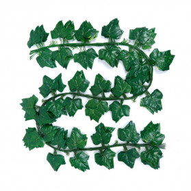 PULCHRITUDE Dekorasi Hiasan Cafe Wedding Ranting Daun Menjalar Artificial Green Leaf 2M - BB480 - Green - 2