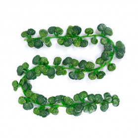 PULCHRITUDE Dekorasi Hiasan Cafe Wedding Ranting Daun Menjalar Artificial Green Leaf 2M - BB480 - Green - 3