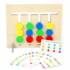 Candywood Mainan Puzzle Montessori Logical Educational Game - TM-5154 - Wooden - 3