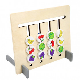 Candywood Mainan Puzzle Montessori Logical Educational Game - TM-5154 - Wooden - 4