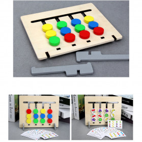 Candywood Mainan Puzzle Montessori Logical Educational Game - TM-5154 - Wooden - 9