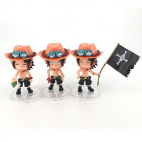 Apaffa Action Figure One Piece Model Portgas D. Ace 3 PCS - AP1 - 1