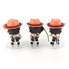 Apaffa Action Figure One Piece Model Portgas D. Ace 3 PCS - AP1 - 2