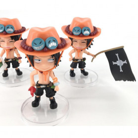 Apaffa Action Figure One Piece Model Portgas D. Ace 3 PCS - AP1 - 3