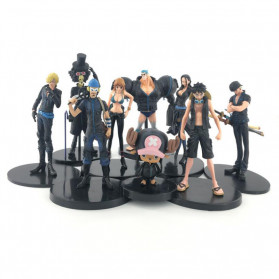 Apaffa Action Figure One Piece 9 PCS - AP2