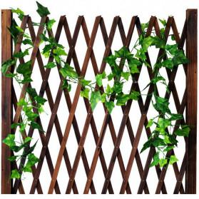 PULCHRITUDE Dekorasi Hiasan Cafe Wedding Ranting Daun Menjalar Artificial Red Ivy Leaf 2M - BB480 - Red - 4