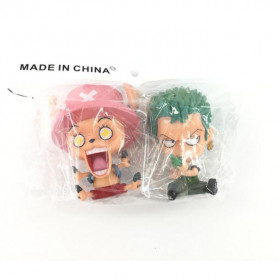 Apaffa Action Figure One Piece Model Zoro Chopper 2 PCS - AP2 - 3