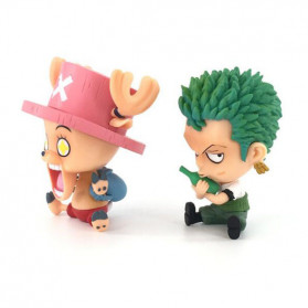 Apaffa Action Figure One Piece Model Zoro Chopper 2 PCS - AP2 - 6