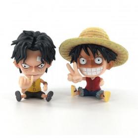 Apaffa Action Figure One Piece Model Luffy 2 PCS - AP2 - 3
