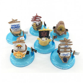 Apaffa Action Figure One Piece Model Pirate Ship 6 PCS - AP2