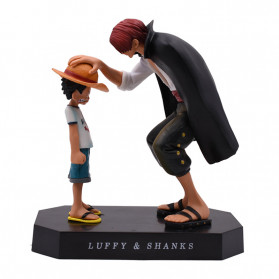 Apaffa Action Figure One Piece Model Luffy And Shanks 1 PCS - AP3