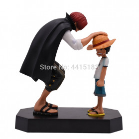 Apaffa Action Figure One Piece Model Luffy And Shanks 1 PCS - AP3 - 2