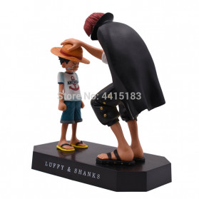 Apaffa Action Figure One Piece Model Luffy And Shanks 1 PCS - AP3 - 3