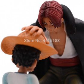 Apaffa Action Figure One Piece Model Luffy And Shanks 1 PCS - AP3 - 4