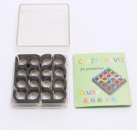 Fradoo Mainan Puzzle Anak Creative 3D Intelligence Crazy Curve Matrix Games - PC3D - Black - 5