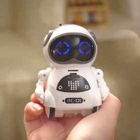 JIABAILE Mainan Robot Dance Interactive Talking Voice Recognition - 939A - White