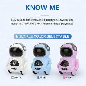 JIABAILE Mainan Robot Dance Interactive Talking Voice Recognition - 939A - White - 6