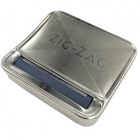 ZIG-ZAG Roll Box Stainless Alat Linting Rokok Tembakau 70mm - HP-7 - Silver