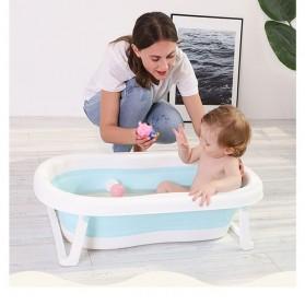 Beideli Bak Mandi Bayi Lipat Foldable Baby Bathtub - PJ4067 - Blue