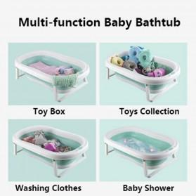 Beideli Bak Mandi Bayi Lipat Foldable Baby Bathtub - PJ4067 - Blue - 2
