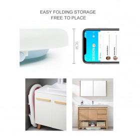 Beideli Bak Mandi Bayi Lipat Foldable Baby Bathtub - PJ4067 - Blue - 3