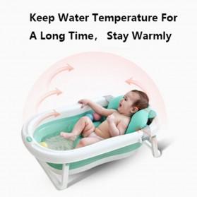 Beideli Bak Mandi Bayi Lipat Foldable Baby Bathtub - PJ4067 - Blue - 7