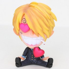 LOL Action Figure Sanji One Piece - PP3 - Yellow