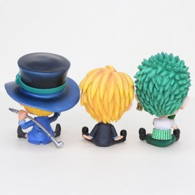 LOL Action Figure Sanji One Piece - PP3 - Yellow - 4