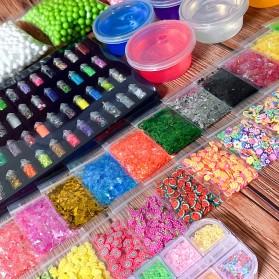 GISIGN Paket DIY Slime Kit Crystal Mud Mainan Kreativitas Anak - CN01 - Multi-Color - 2