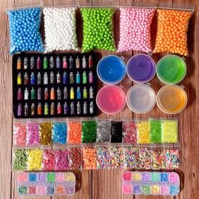 GISIGN Paket DIY Slime Kit Crystal Mud Mainan Kreativitas Anak - CN01 - Multi-Color - 5
