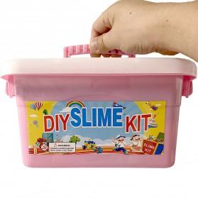 GISIGN Paket DIY Slime Kit Crystal Mud Mainan Kreativitas Anak - CN01 - Multi-Color - 8