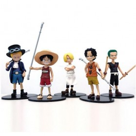 Apaffa Action Figure One Piece 5 PCS - AP4