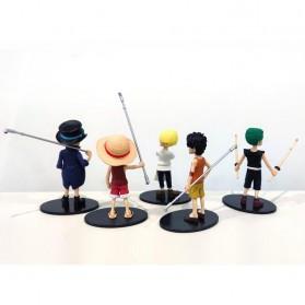 Apaffa Action Figure One Piece 5 PCS - AP4 - 2