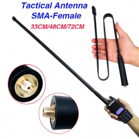 ABBREE Tactical Antena Dual Band 47cm SMA for Walkie Talkie Taffware Pofung Baofeng UV-5R UV-82 - Camouflage - 7
