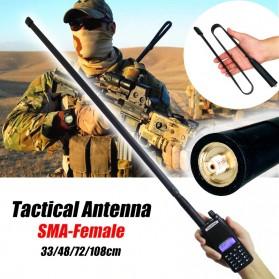 ABBREE Tactical Antena Dual Band 47cm SMA for Walkie Talkie Taffware Pofung Baofeng UV-5R UV-82 - Camouflage - 8