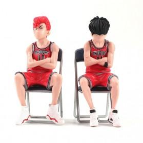 Apaffa Set Action Figure Slam Dunk Shohoku Team 5 PCS - AP5 - White - 5