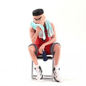Apaffa Set Action Figure Slam Dunk Shohoku Team 5 PCS - AP5 - Red - 6