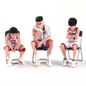 Apaffa Set Action Figure Slam Dunk Shohoku Team 5 PCS - AP5 - Red - 7