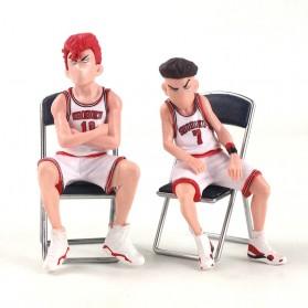 Apaffa Set Action Figure Slam Dunk Shohoku Team 5 PCS - AP5 - Red - 8